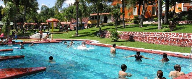 Balneario Ayoa, de los lugares en Puebla para viajar con amigos